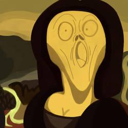 Scream Lisa. (Parody.) by 21WolfieProductions