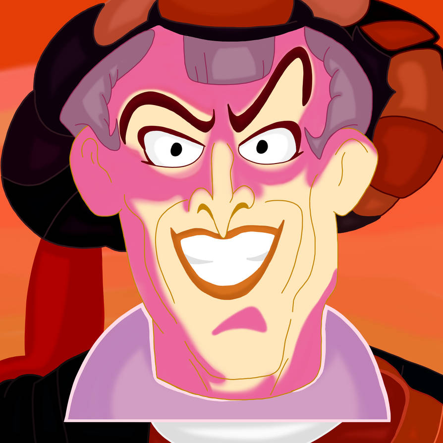 Frollo (Hunchback Of Notre Dam.) by 21WolfieProductions
