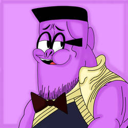 Thanos Irwin. (Fanart.) by 21WolfieProductions