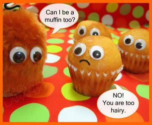 Chubaka muffin? by moOnxinha