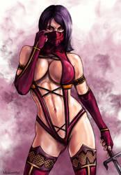 mileena - censorship by Mister69M