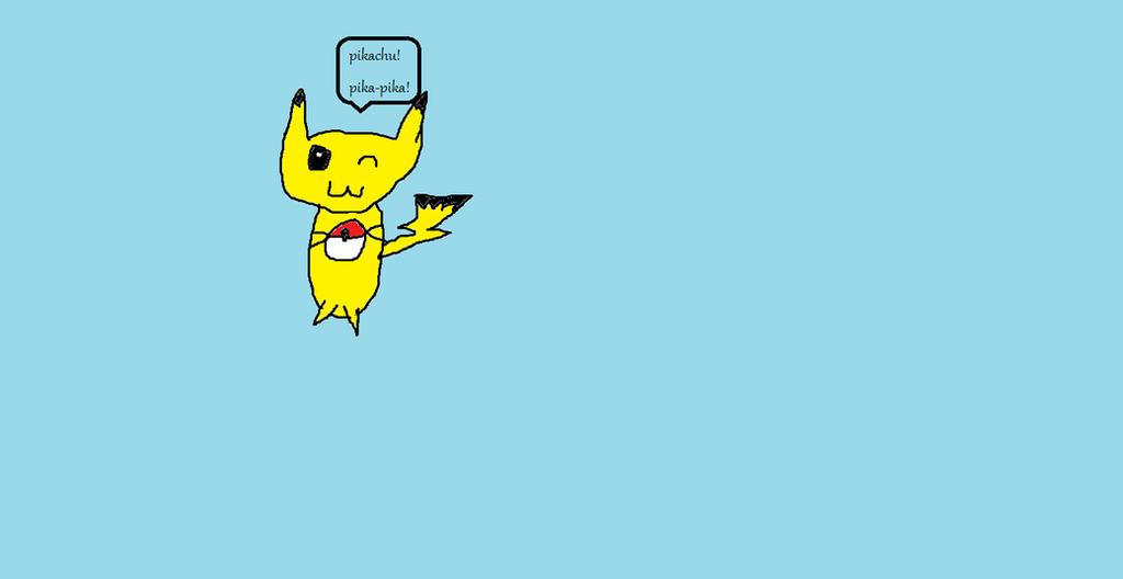 Pikachu by LPSrocker
