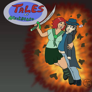 Tales of Neckbeard (fake movie/comic poster)