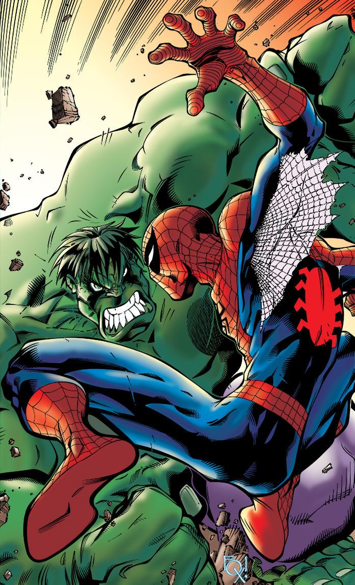 Spiderman X Hulk by TiagoFox on DeviantArt