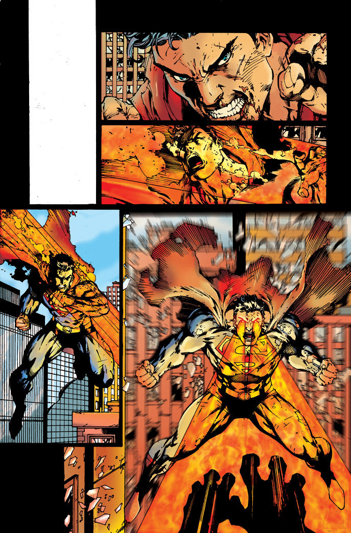 superman crossover by tiagofox on deviantart