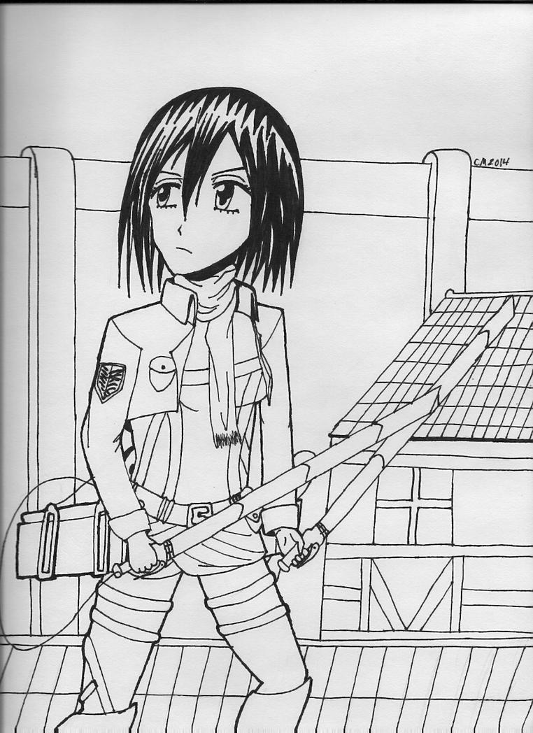 Mikasa by SHAREtheWELT