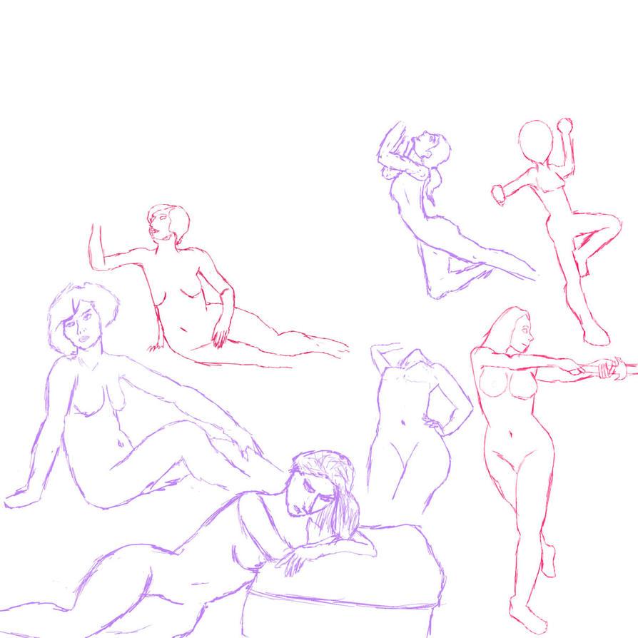 Figure Drawing 1 by SHAREtheWELT