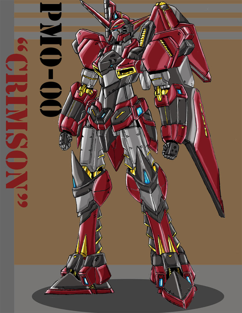 PMO-00 Crimson Gloss Ver. by gepenkusil