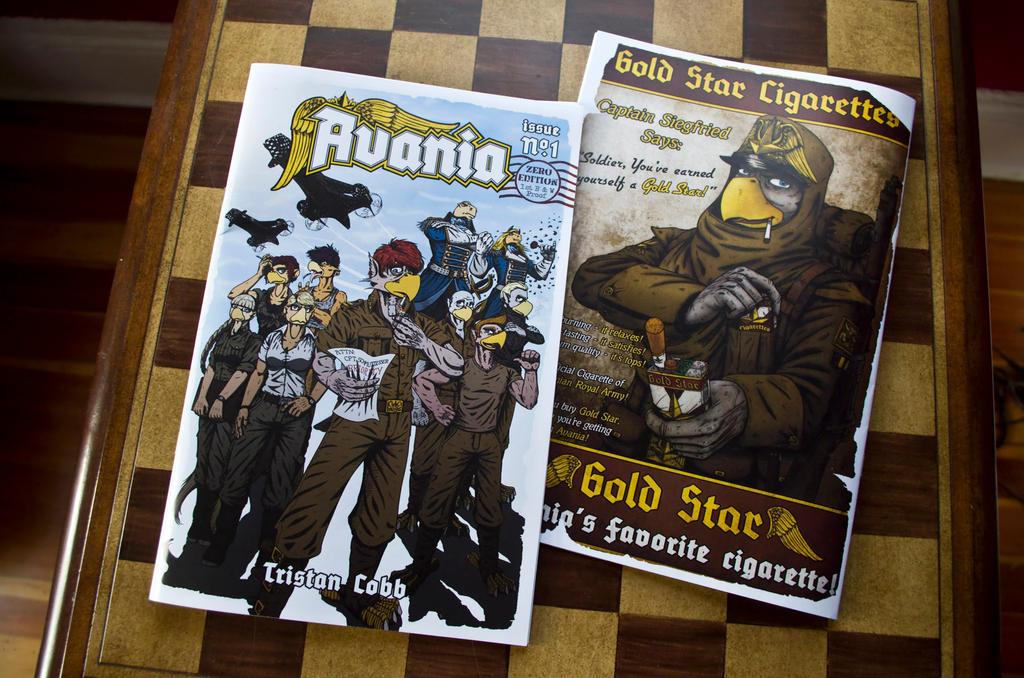 Avania Comic No.1 - 1st Color Proof by Tristikov