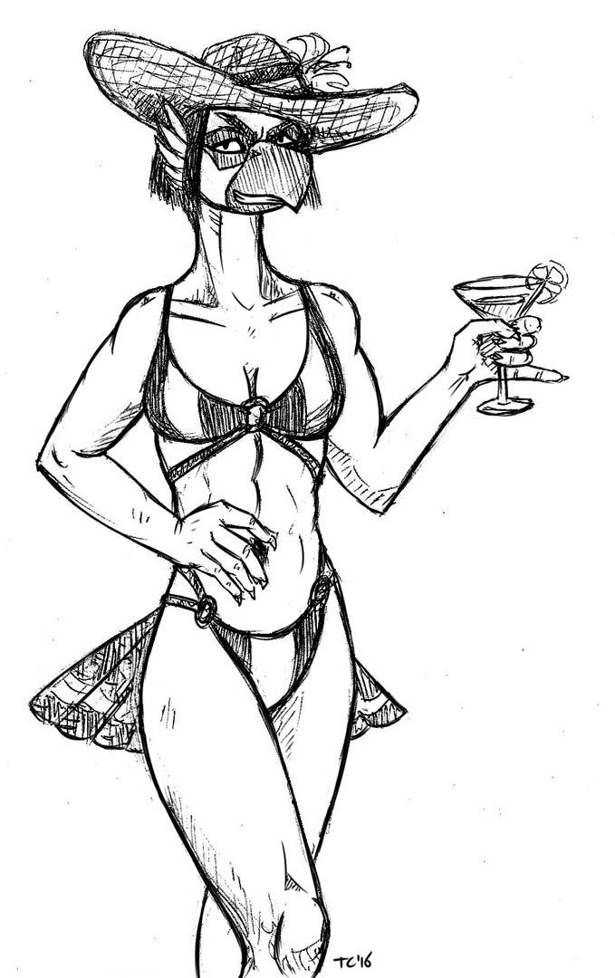 Viktoria Beach Martini by Tristikov