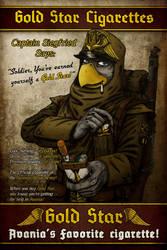 Avania Comic - Issue No.1 Back Cover by Tristikov