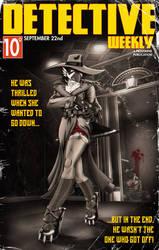 Viktoria - Detective Weekly Cover by Tristikov