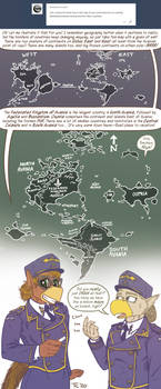 Avania Mail - World Map