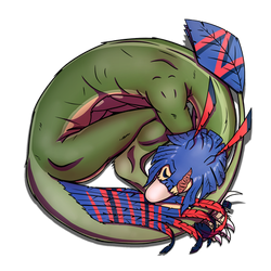 Sleepy ANGEL Raptor-ball