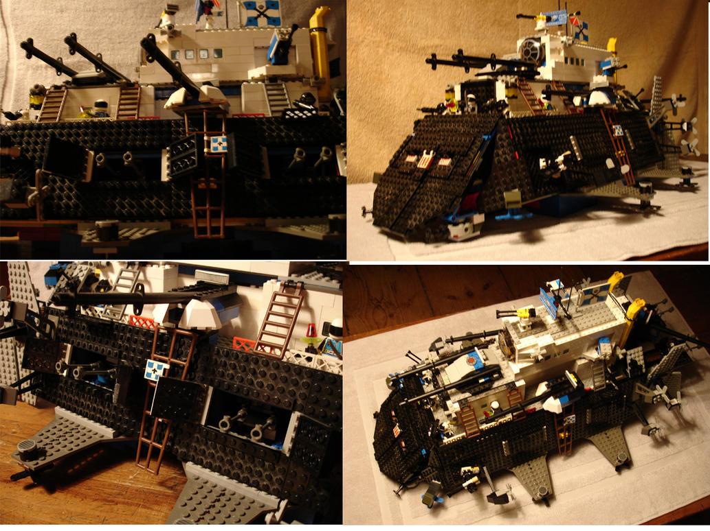Lego 'iron clad' Airship by Tristikov