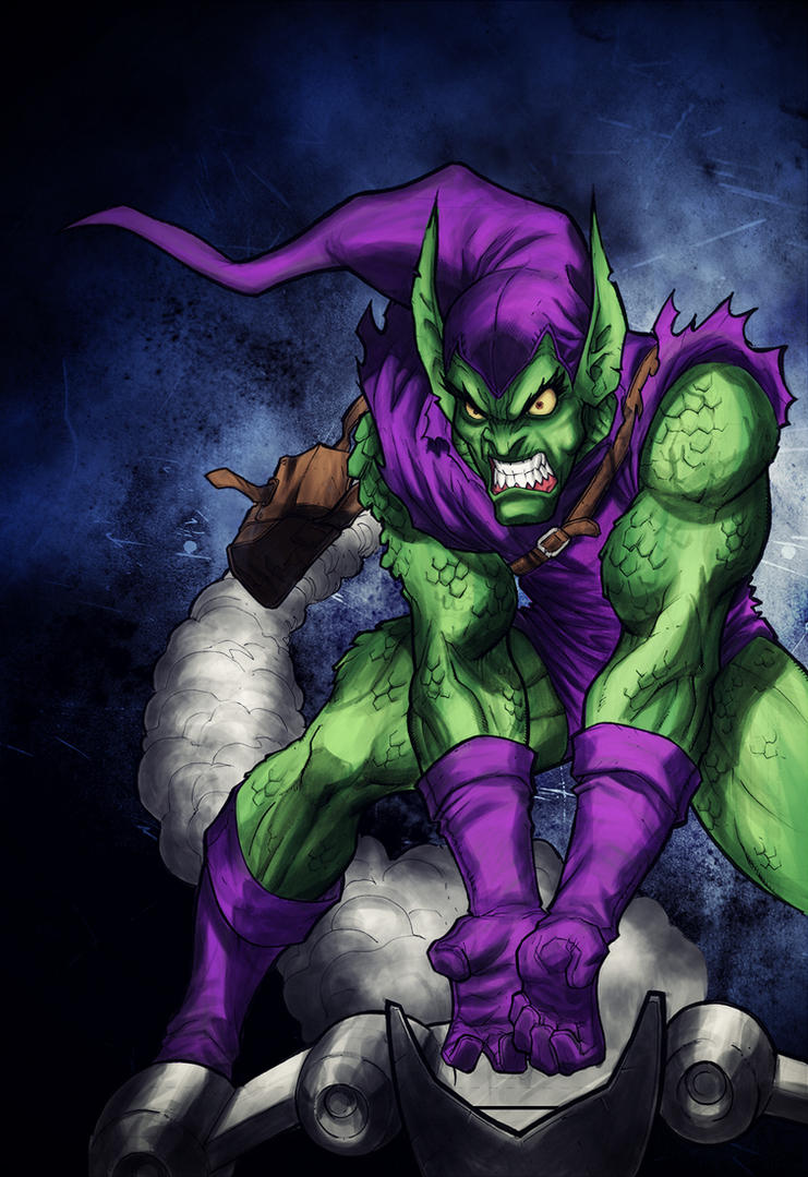 Green Goblin by Jaaaiiro on DeviantArt