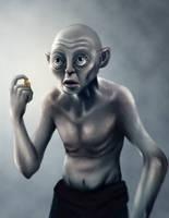 Gollum by Jaaaiiro