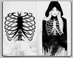 Skeleton by Jaaaiiro
