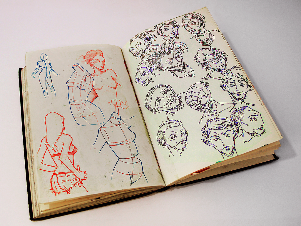 Sketchbook 14 by Jaaaiiro