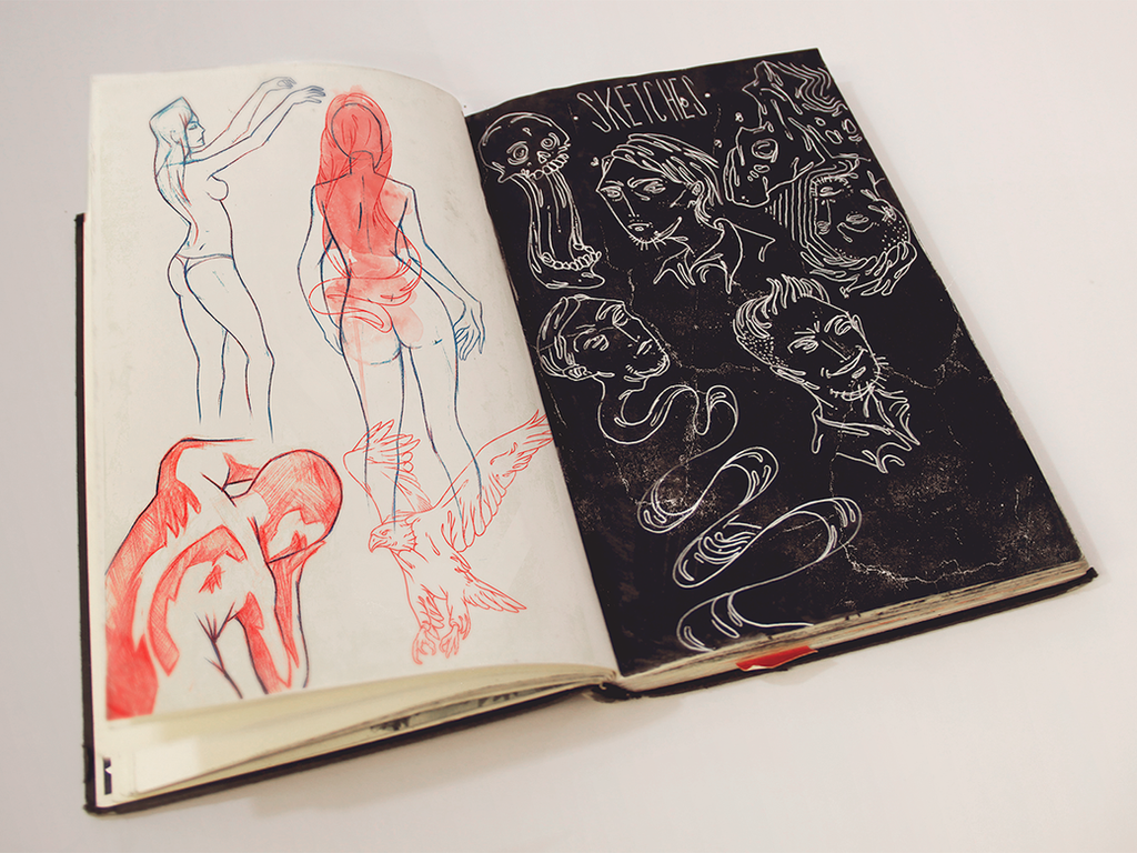 Sketchbook 15 by Jaaaiiro