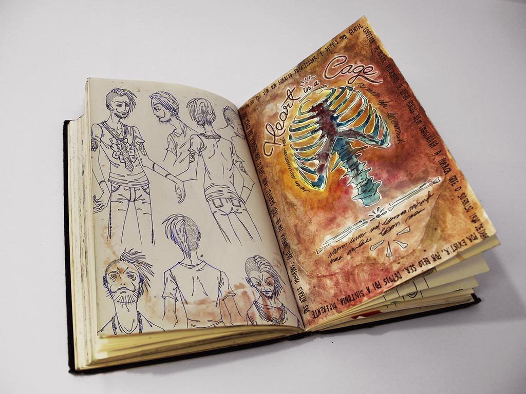 Sketchbook 16 by Jaaaiiro