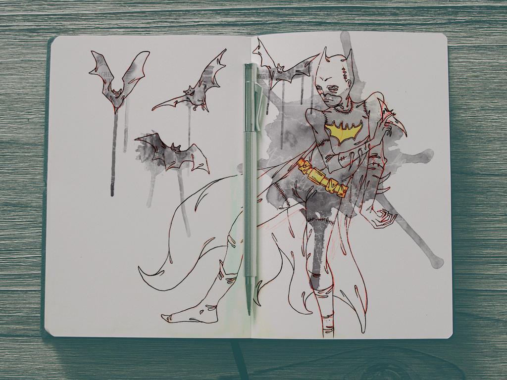 Sketchbook 22 by Jaaaiiro