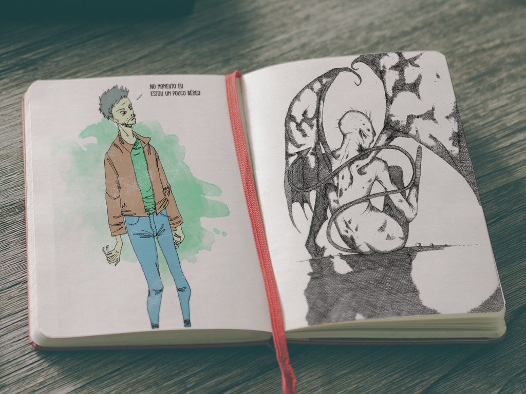 Sketchbook 23 by Jaaaiiro