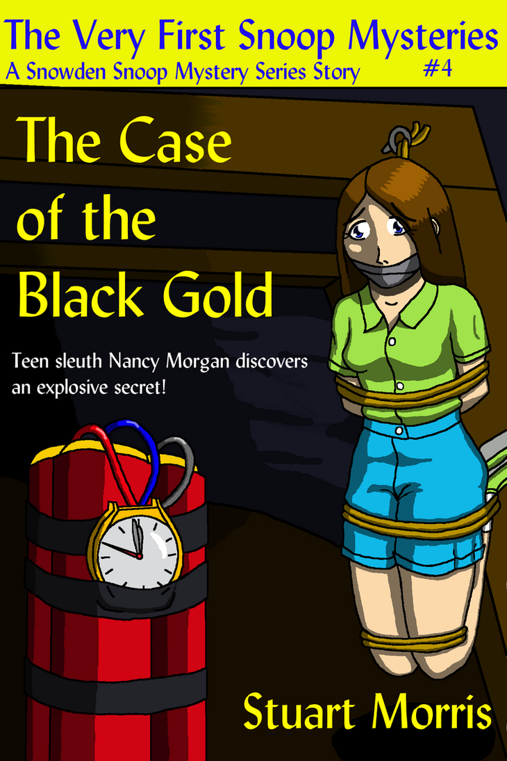 Black Gold Book Cover by MisterMistoffelees