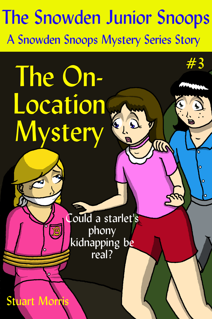 On-Location Mystery Book Cover by MisterMistoffelees