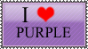 I love purple stamp by Deviant-Of-Darkness