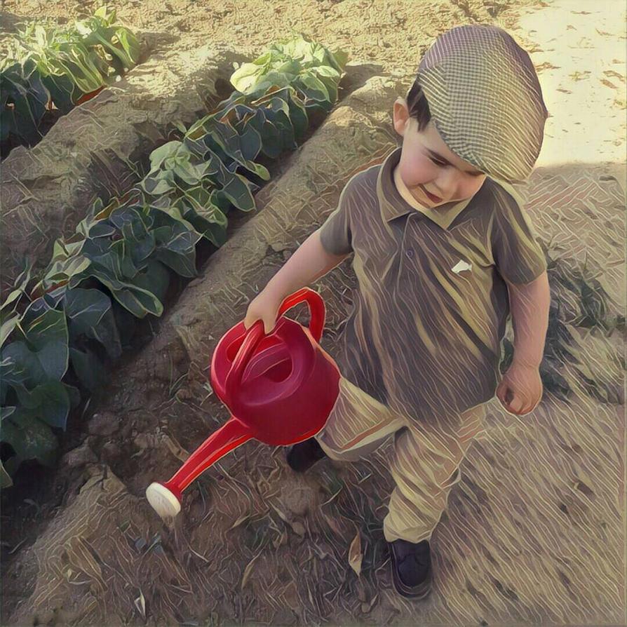 My little farmer by Bruno96Silva on DeviantArt
