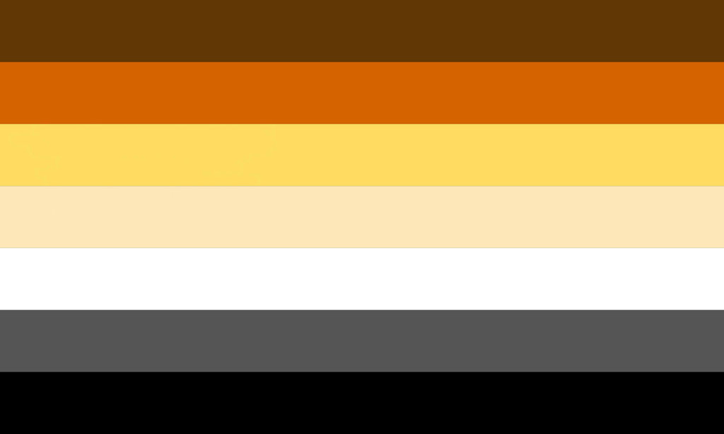 Bear Pride Flag 5 (No Paw Symbol) by pride-flags-for-us on ...