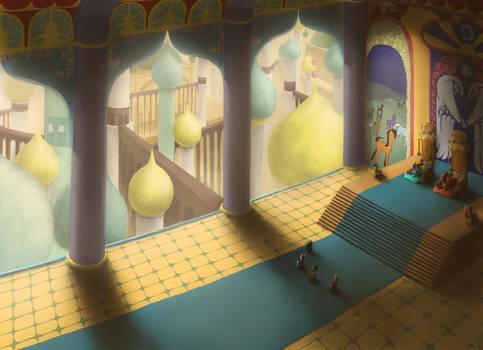 Equestria hidden history Ep 3: S.Arabia Royal Hall