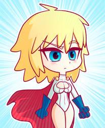 Power Girl by StenBase