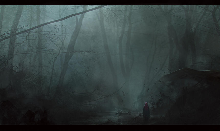 Dark forest by VictorMosquera