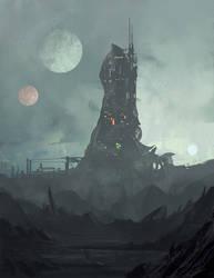 Sci-Fi Temple by VictorMosquera