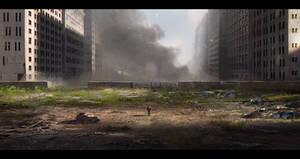 Zombie Abandoned city