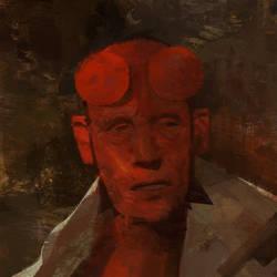 Hellboy by VictorMosquera