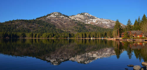 Donner Lake Reflection