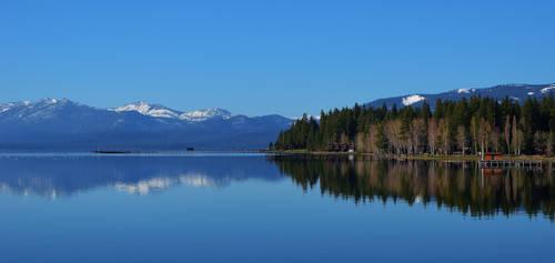 Lake Tahoe Morning Reflections