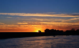 Cloud Layered Sunset