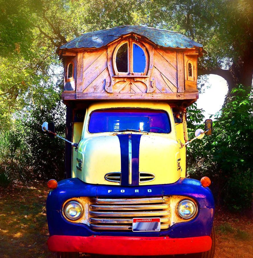 Boho Gypsy Life Truck by Marilyn958