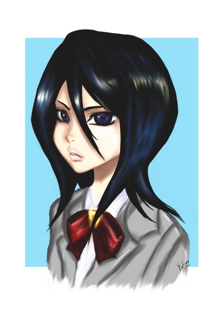 Rukia by Katiny