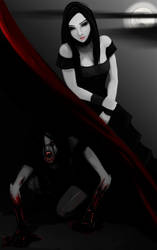 2015 Halloween Chalenge #1 Vampire by Hadriel99
