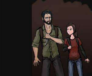 [2016/01/28] DDC - Joel and Ellie by Hadriel99
