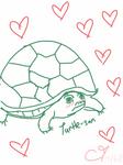 Turtle-san is super moe