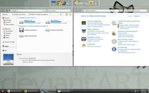 Gnome Desktop by fede18