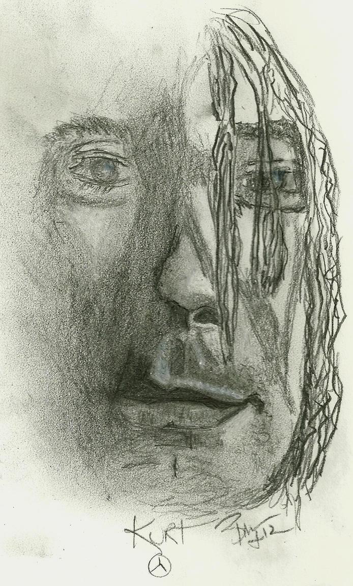 Kurt Cobain by BLB55
