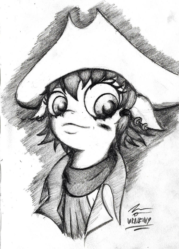 Rae the Pirate by MRNEIN9
