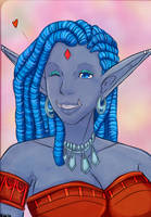 Ylfah toothy grin by Ylfalita